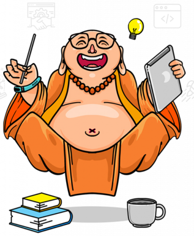 Digital Marketing course - mascot